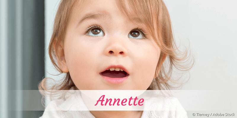 Name Annette als Bild