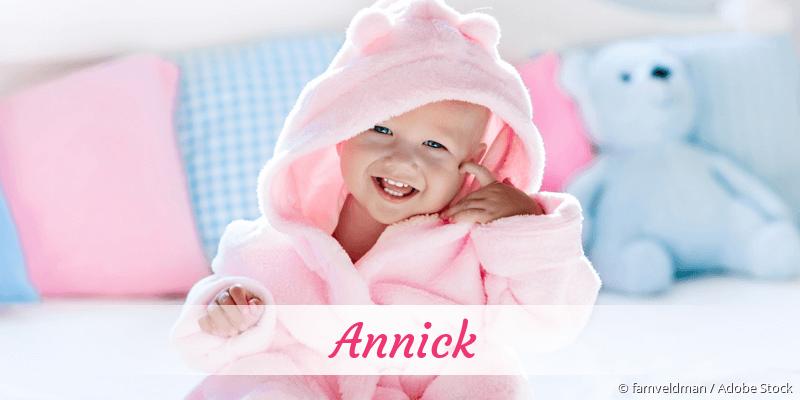 Name Annick als Bild