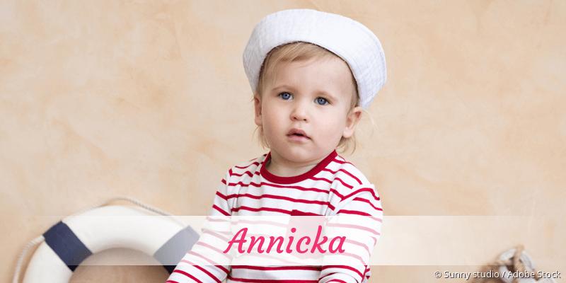 Name Annicka als Bild