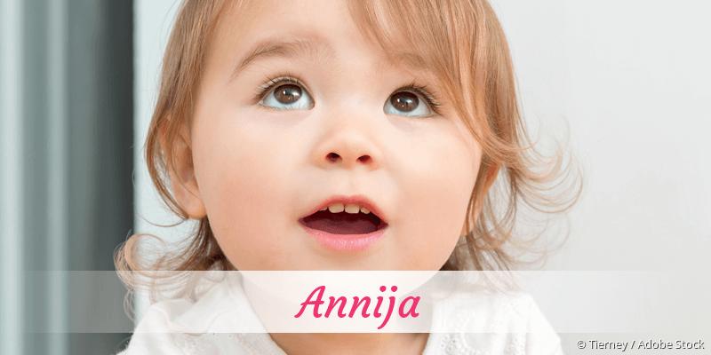 Name Annija als Bild