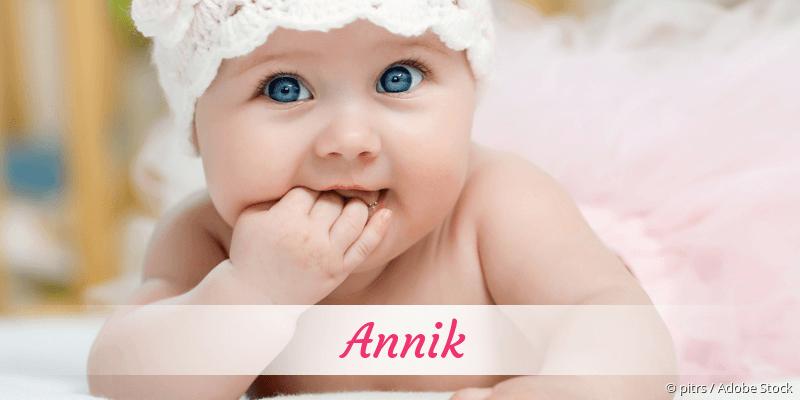 Name Annik als Bild