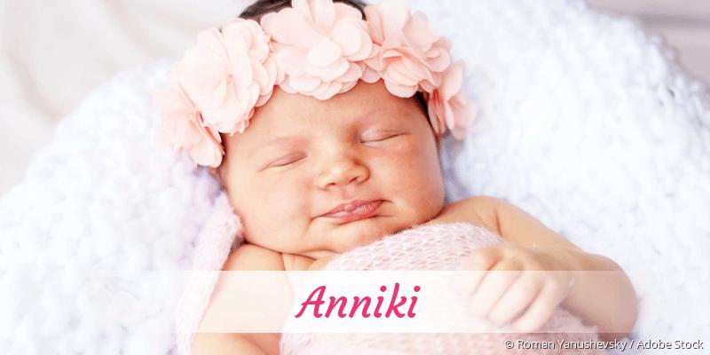 Name Anniki als Bild