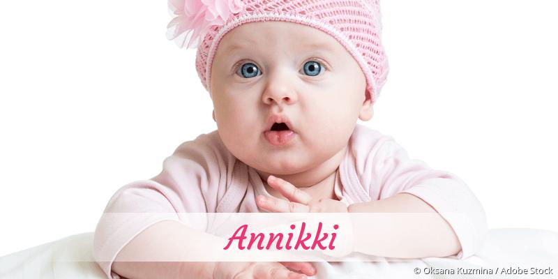 Name Annikki als Bild