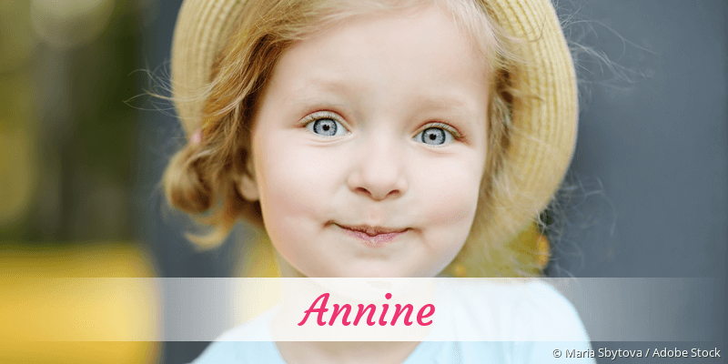 Name Annine als Bild