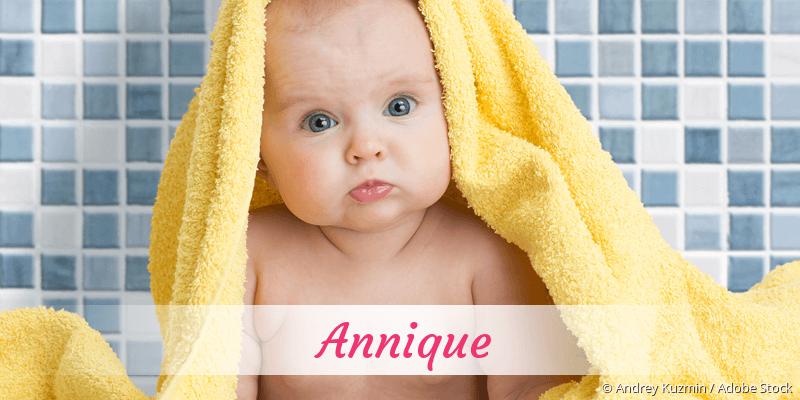 Name Annique als Bild