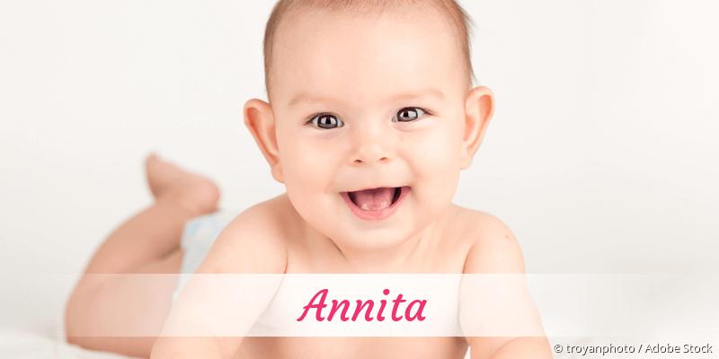 Name Annita als Bild