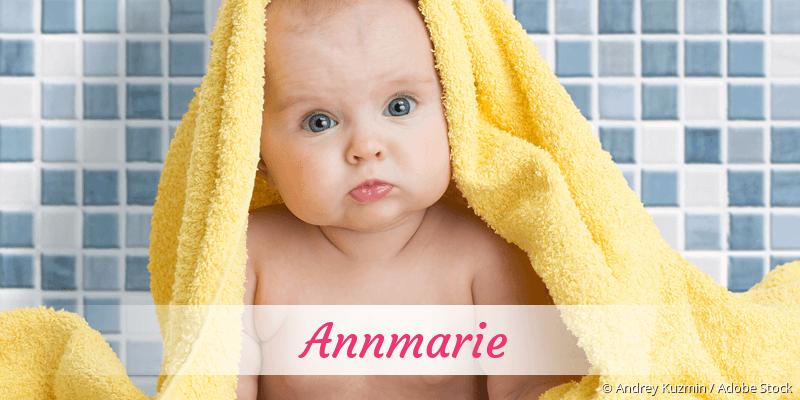 Name Annmarie als Bild