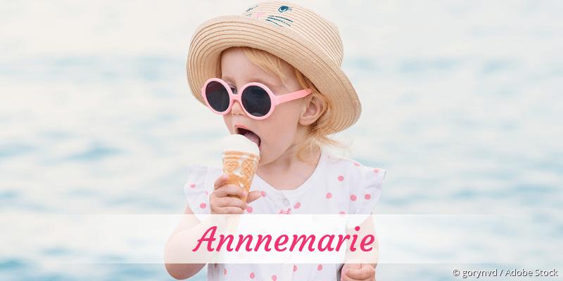 Name Annnemarie als Bild