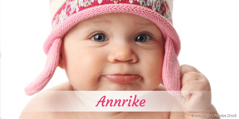 Name Annrike als Bild