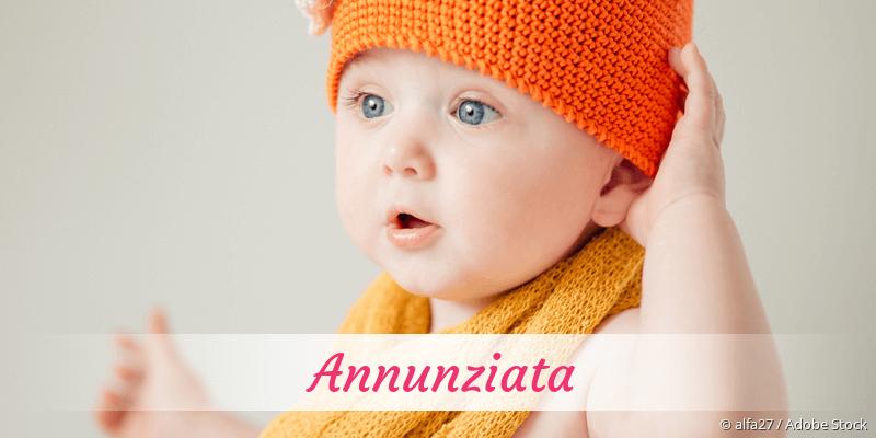 Name Annunziata als Bild