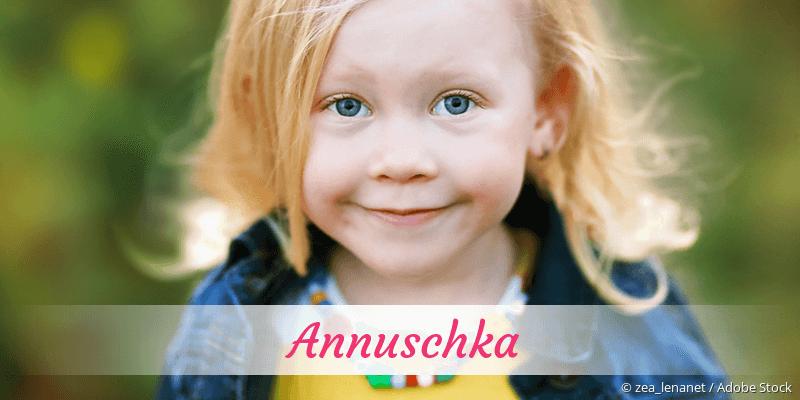 Name Annuschka als Bild