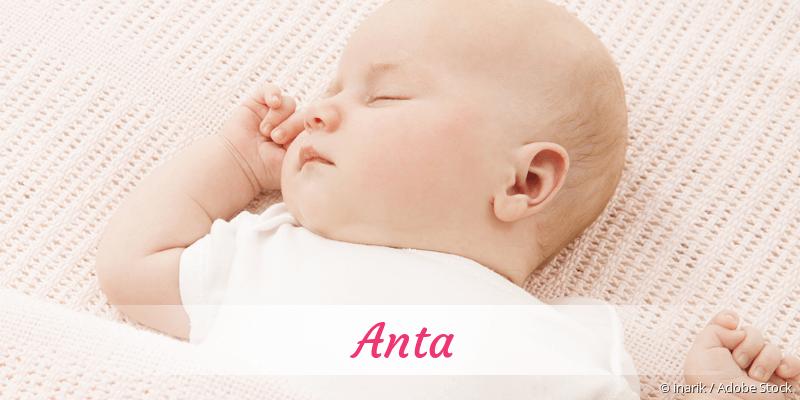 Name Anta als Bild