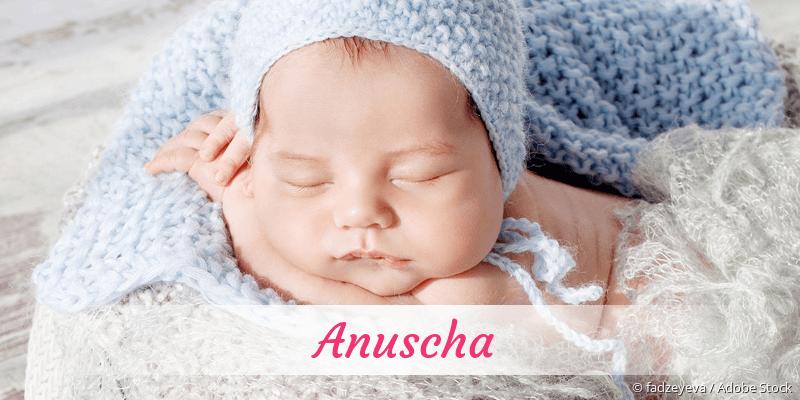 Name Anuscha als Bild