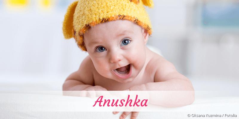 Name Anushka als Bild