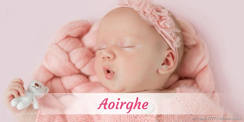 Name Aoirghe als Bild