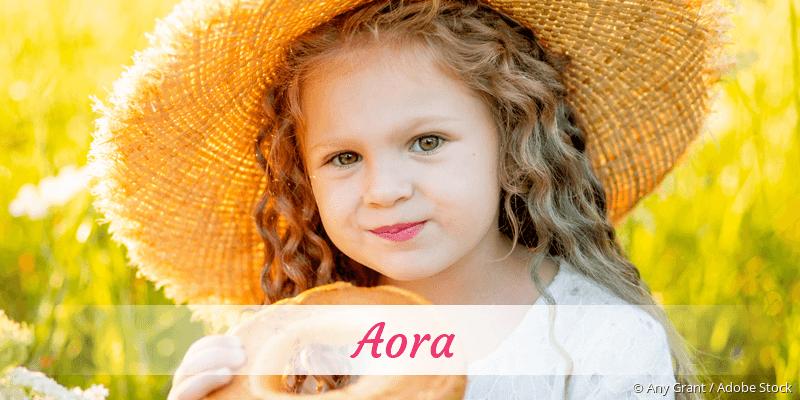 Name Aora als Bild
