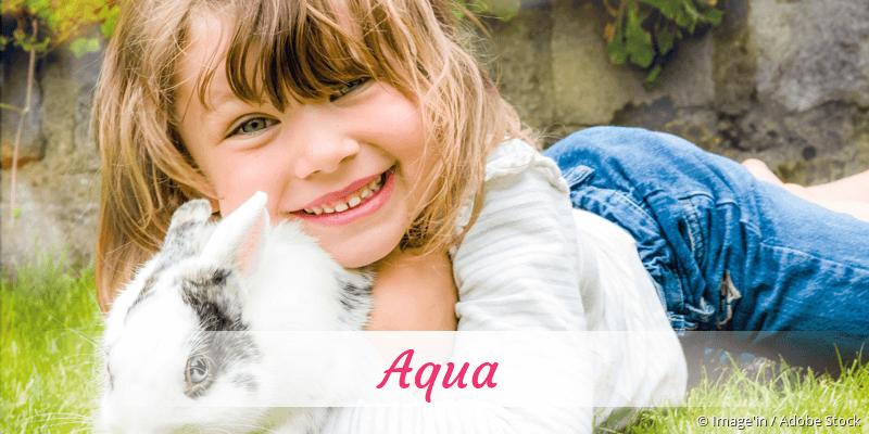 Name Aqua als Bild