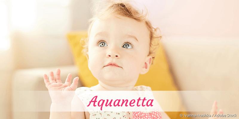 Name Aquanetta als Bild