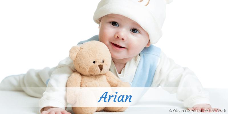 Name Arian als Bild