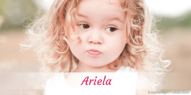 Name Ariela als Bild