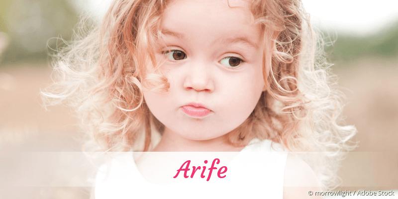 Name Arife als Bild