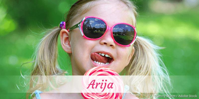 Name Arija als Bild