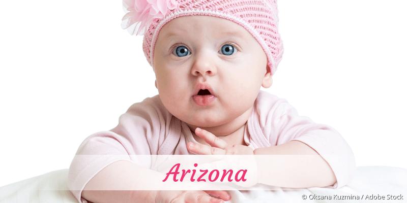 Name Arizona als Bild