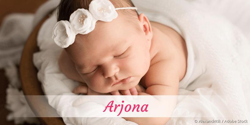 Name Arjona als Bild