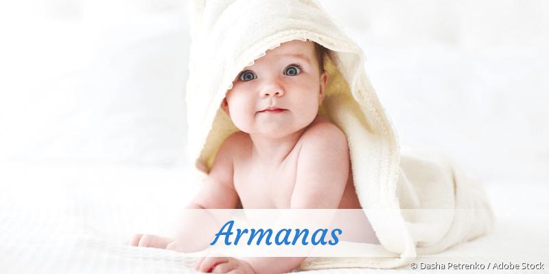 Name Armanas als Bild