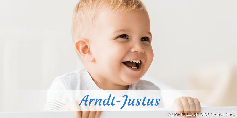 Name Arndt-Justus als Bild