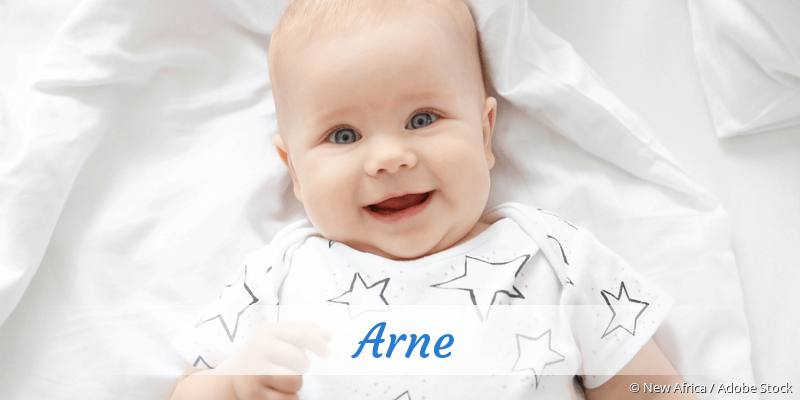 Name Arne als Bild