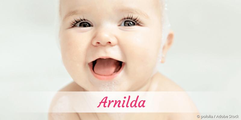 Name Arnilda als Bild