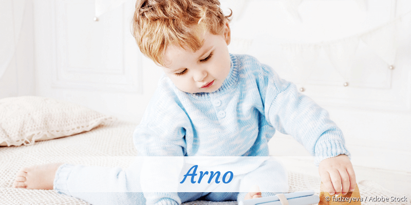 Name Arno als Bild