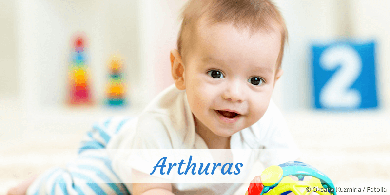Name Arthuras als Bild