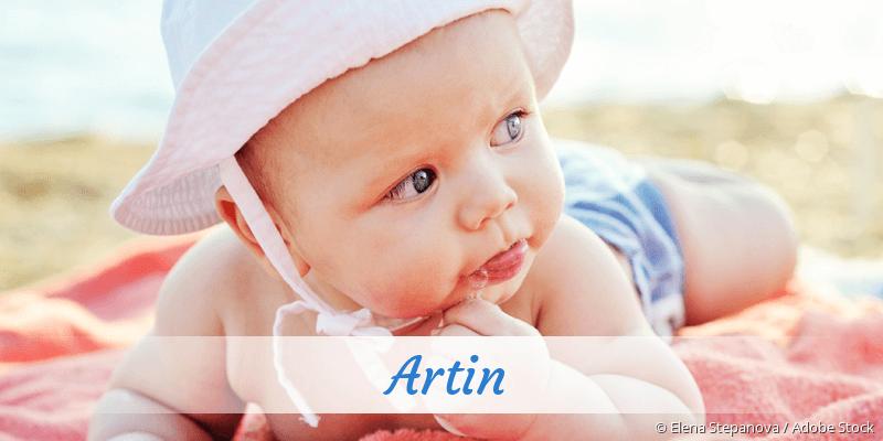 Name Artin als Bild