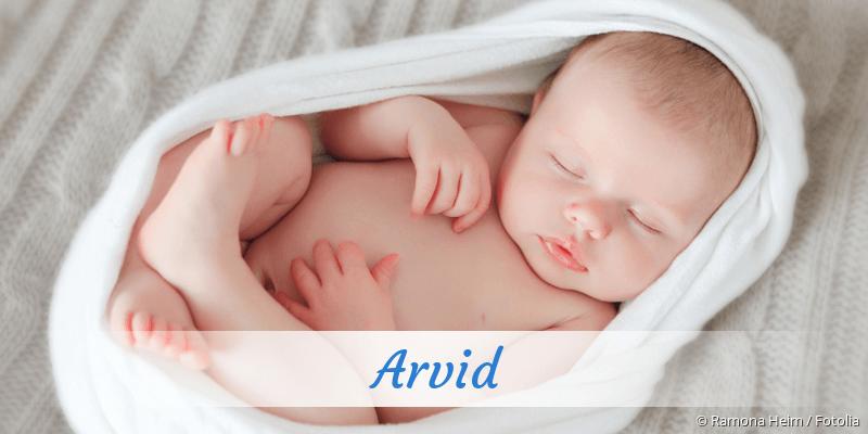 Name Arvid als Bild