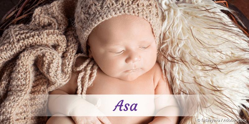 Name Asa als Bild
