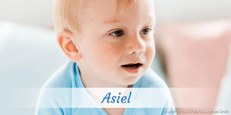 Name Asiel als Bild