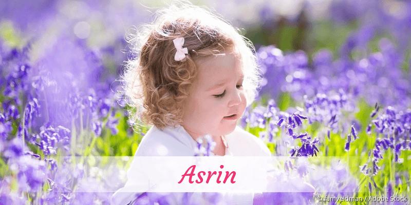 Name Asrin als Bild