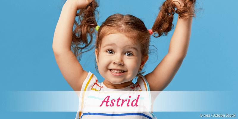 Name Astrid als Bild