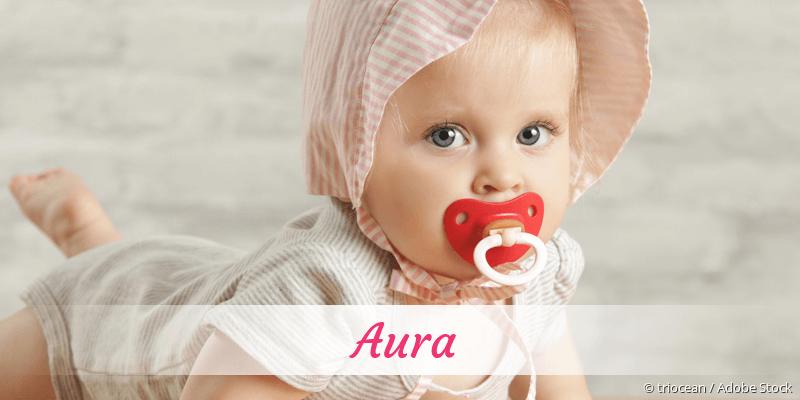 Name Aura als Bild