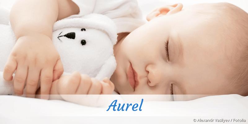 Name Aurel als Bild