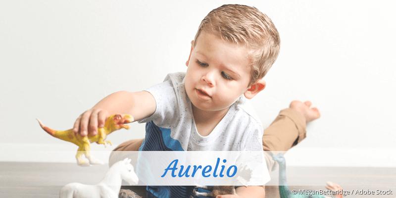 Name Aurelio als Bild