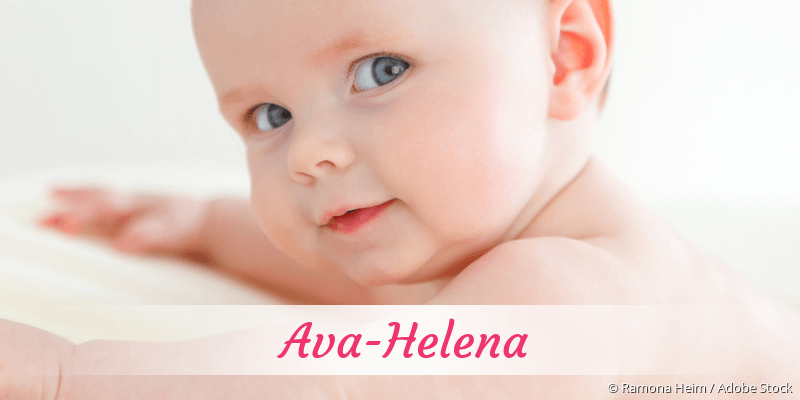Name Ava-Helena als Bild