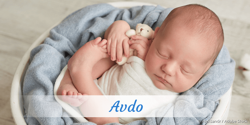 Name Avdo als Bild
