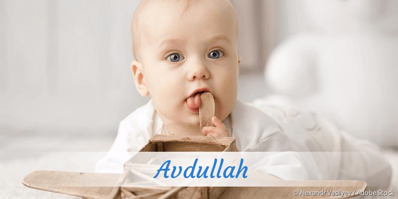Name Avdullah als Bild