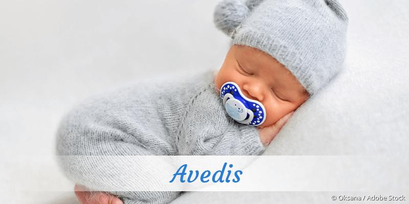 Name Avedis als Bild