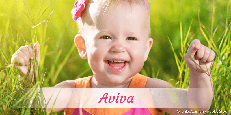 Name Aviva als Bild