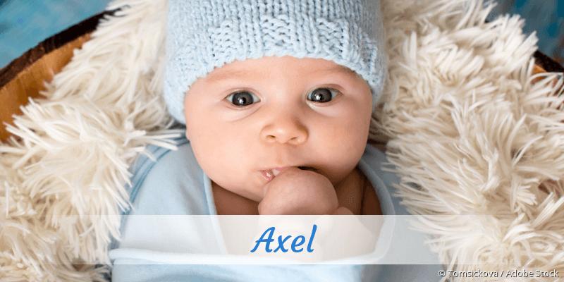 Name Axel als Bild