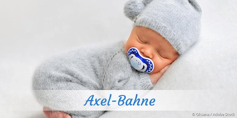 Name Axel-Bahne als Bild